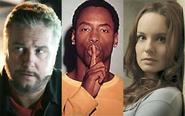 William Petersen, Isaiah Washington e Sarah Callies