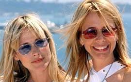 Patricia Arquette e Rosanna Arquette