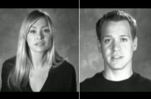 Portia de Rossi e T. R. Knight | Campanha Logo TV