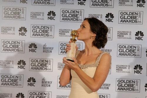 Emily Blunt, vencedora do 64º Globo de Ouro