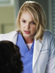 Katherine Heigl em Grey's Anatomy