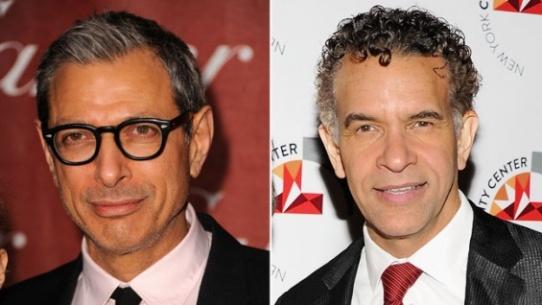 Jeff Goldblum e Brian Stokes Mitchell