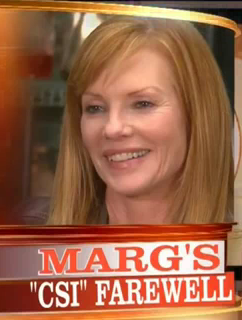 Marg Helgenberger dá adeus para 'C.S.I.'