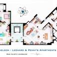 """Depois de divulgar a planta dos apartamentos de """"Friends"""", chegou a vez de revelar toda a arquitetura dos apartamentos de """"The Big Bang Theory"""". Veja a planta do apartamentos […]"""