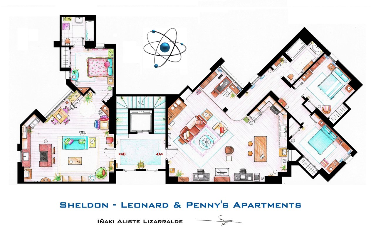Planta de The Big Bang Theory