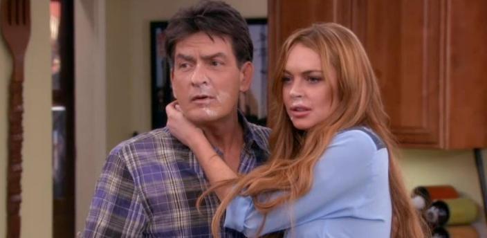 Lindsay Lohan em 'Anger Management'