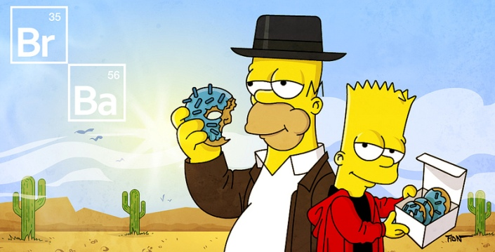 The Simpsons | Breaking Bad