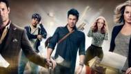 """Yay! O canal pago TNT anunciou a renovação de """"The Librarians"""" para uma 4ª temporada, que deve estrear ainda em 2017. A série é protagonizada por Rebecca Romijn e Christian […]"""